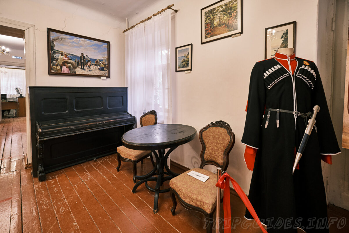 Экспозиция на первом этаже - Дом-музей Владимира Короленко