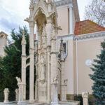 Готический фонтан - Старый парк в Кабардинке