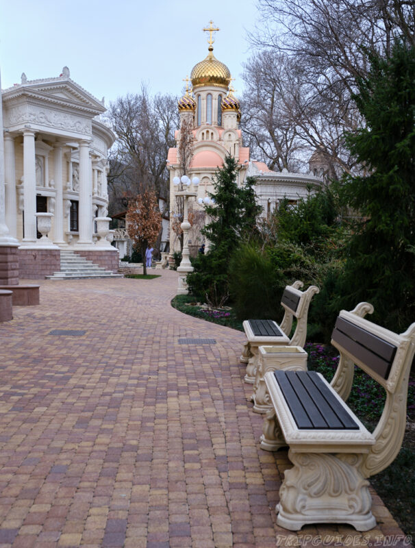 Православная часовня - Старый парк в Кабардинке