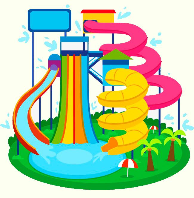 Аквапарки - водные парки, развлечения