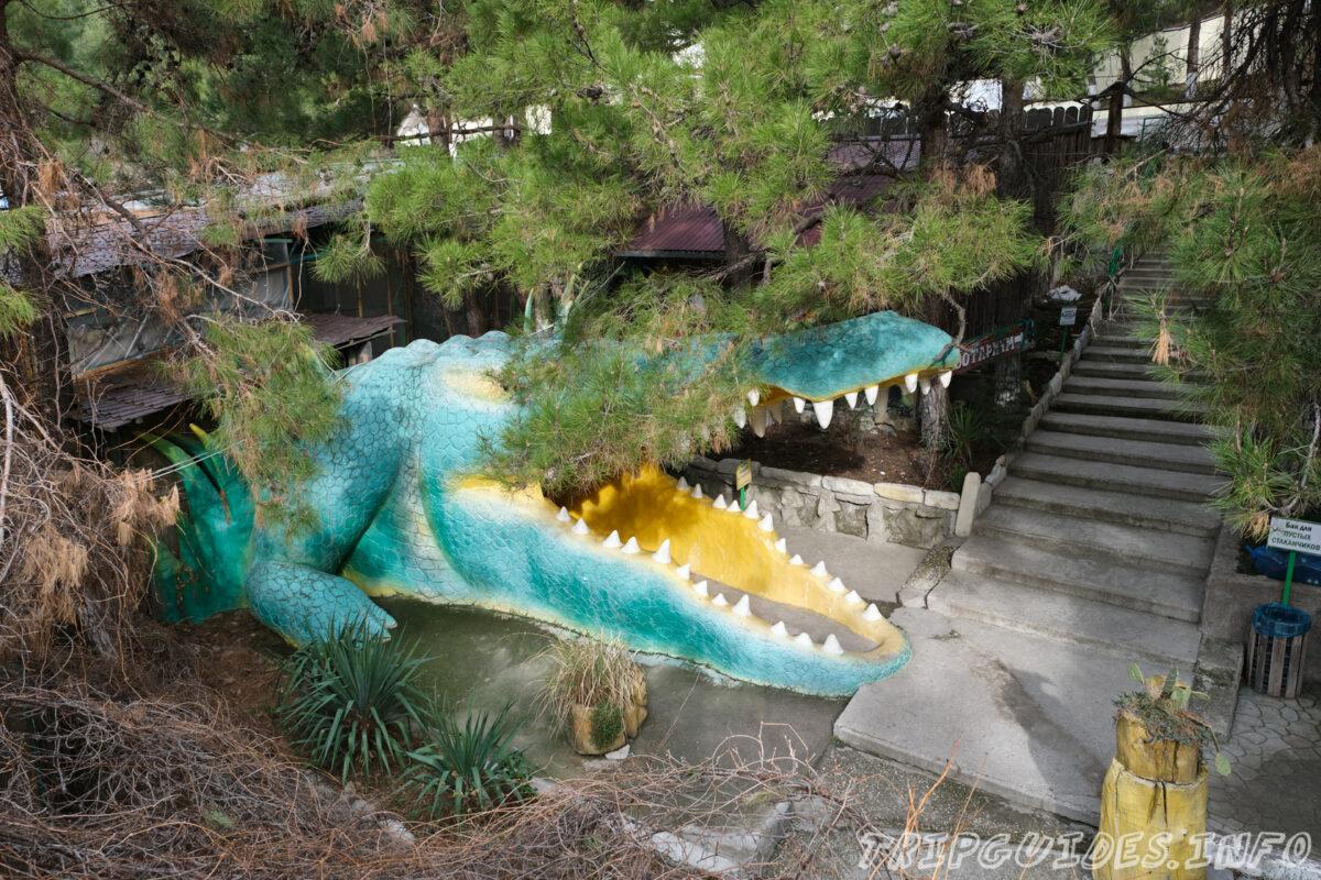 Зов Джунглей - Контактный зоопарк в Геленджике - Главный вход