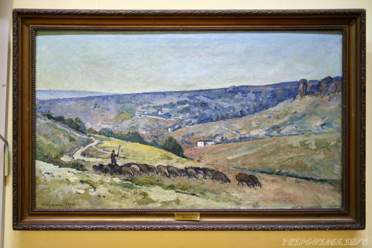 Картины сочинского художественного музея