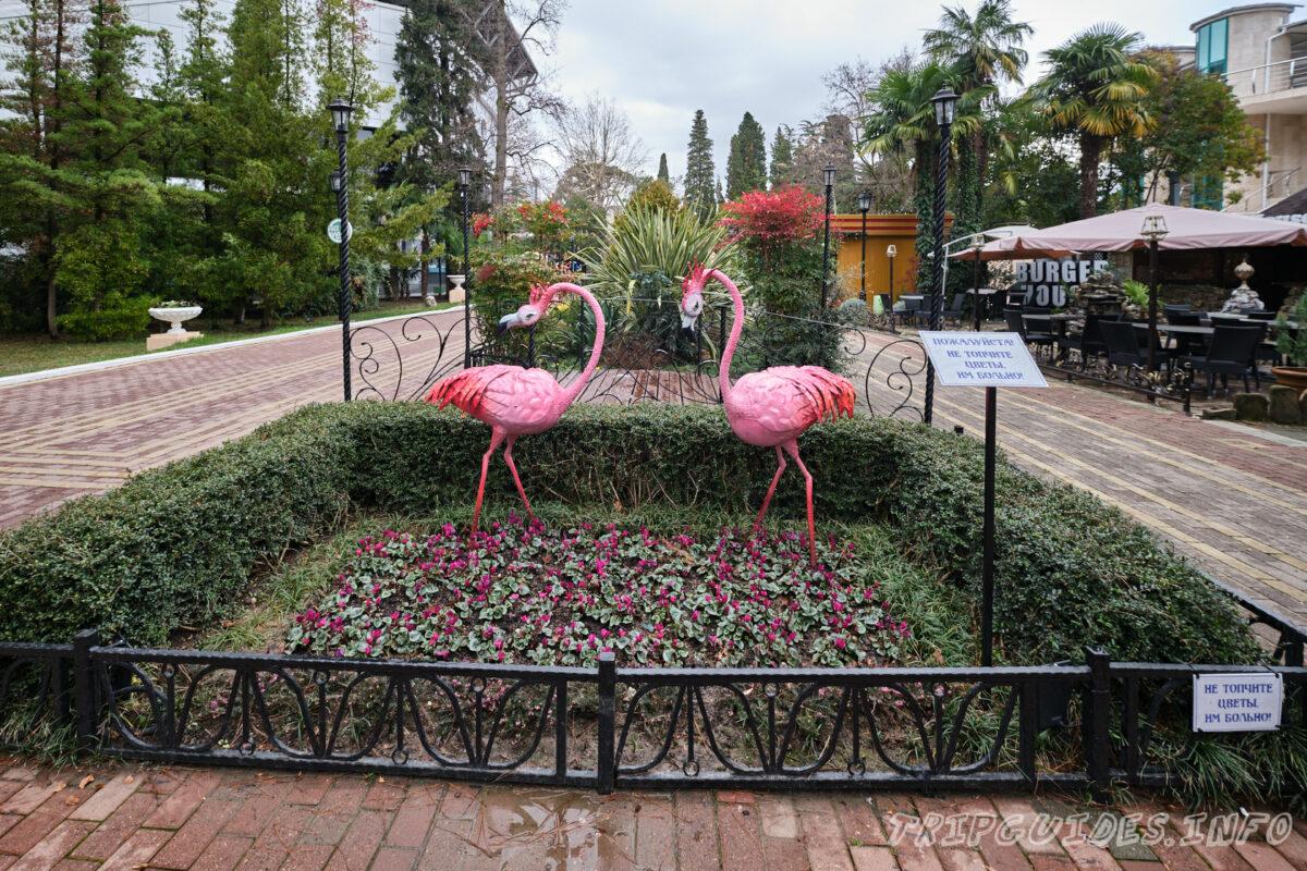 Арт-объекты - Парк Ривьера в Сочи