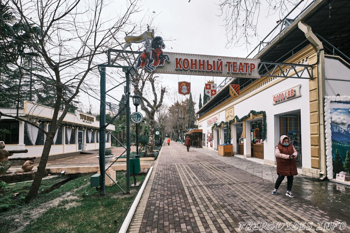 Конный театр - Парк Ривьера в Сочи