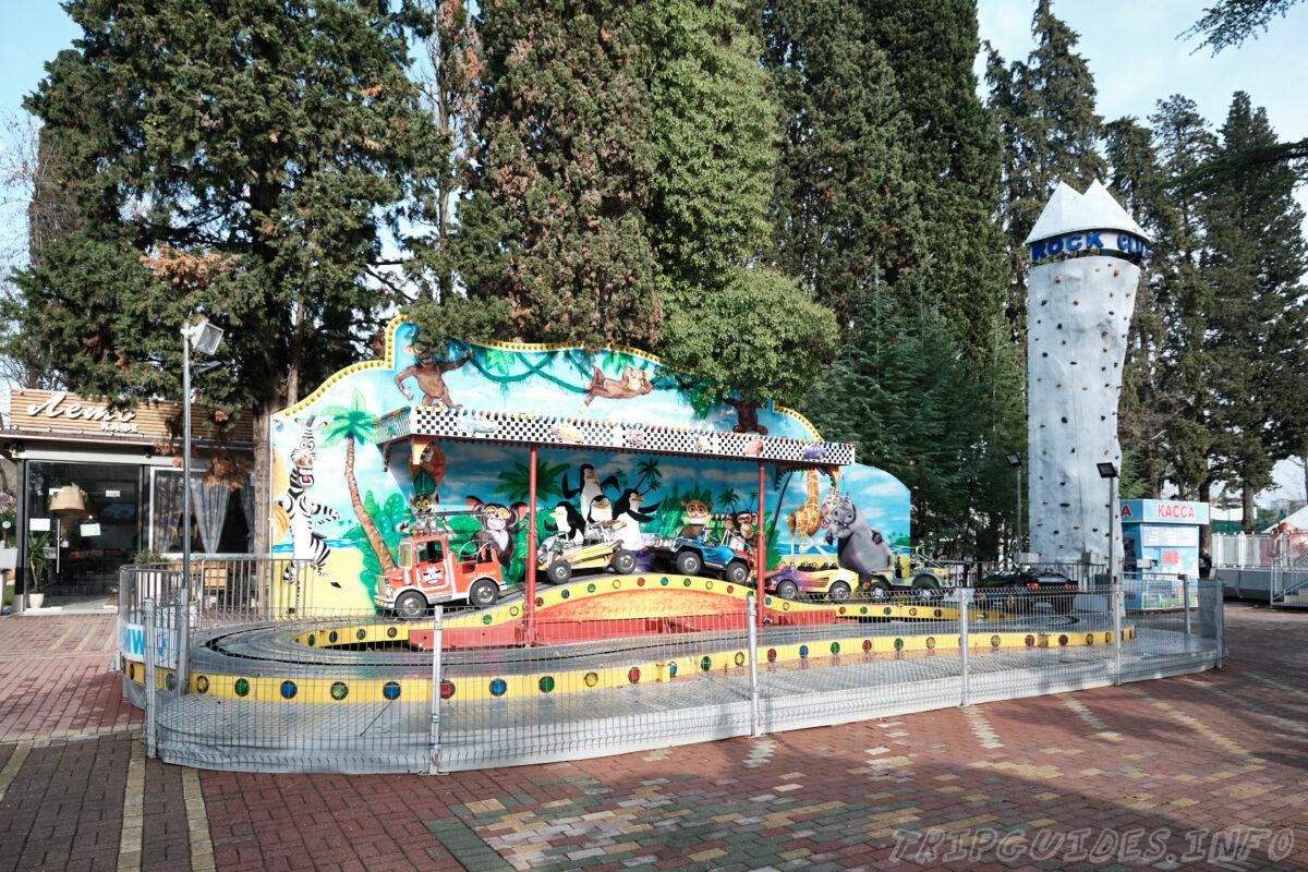 Детские аттракционы - Парк Ривьера в Сочи