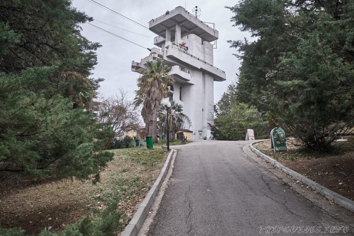 Сочинский дендрарий - канатная дорога - верхняя станция