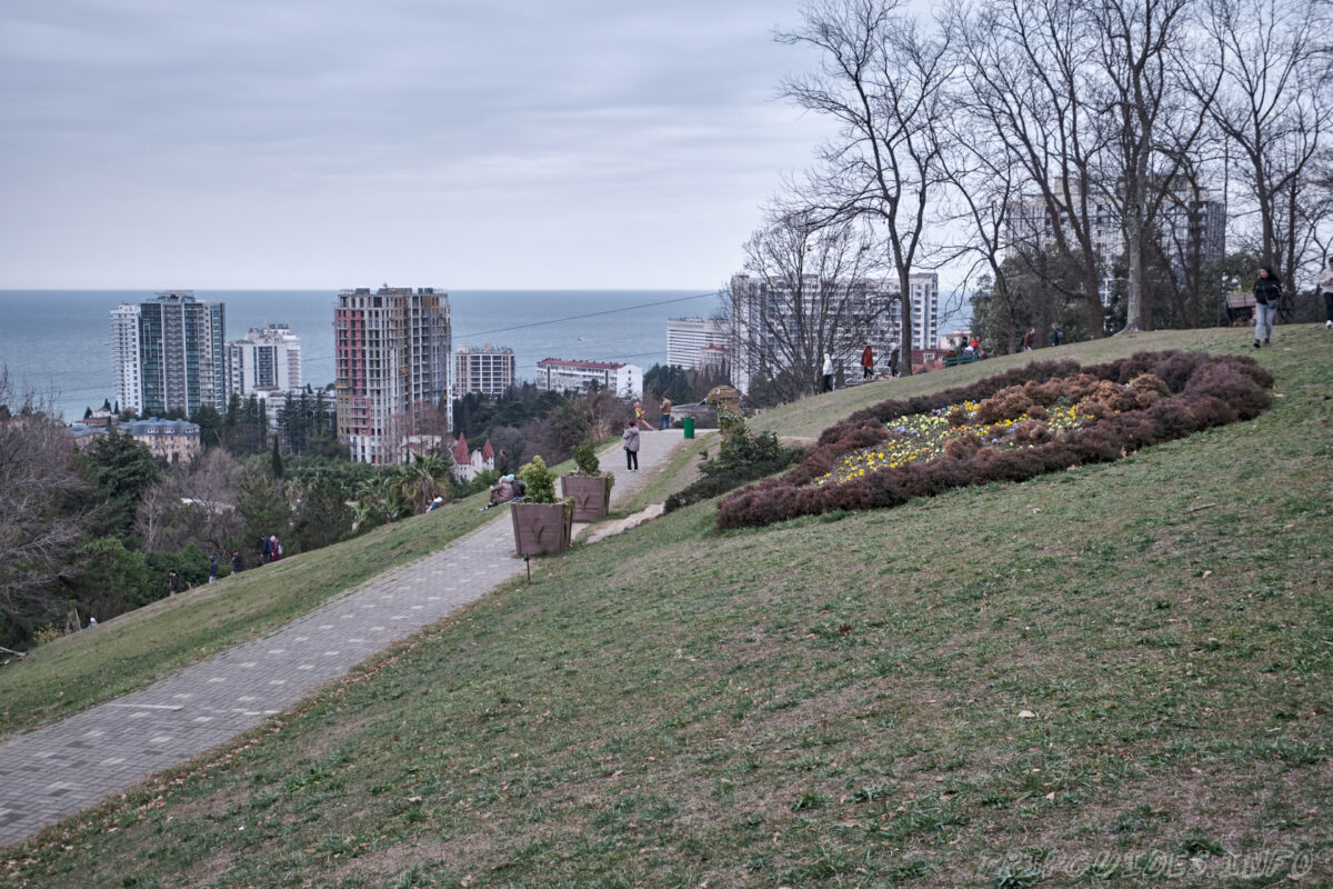 Сочинский дендрарий - верхний парк - Лысая гора - смотровая площадка