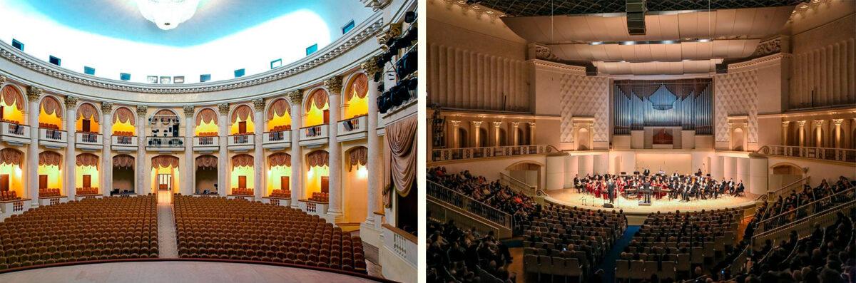 Зимний театр в Сочи - Внутренняя планировка и интерьер