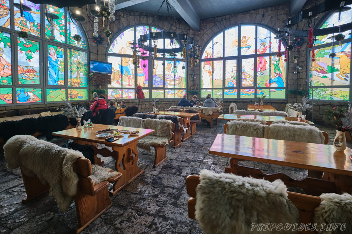Кафе Ахун на горе Ахун - Сочи