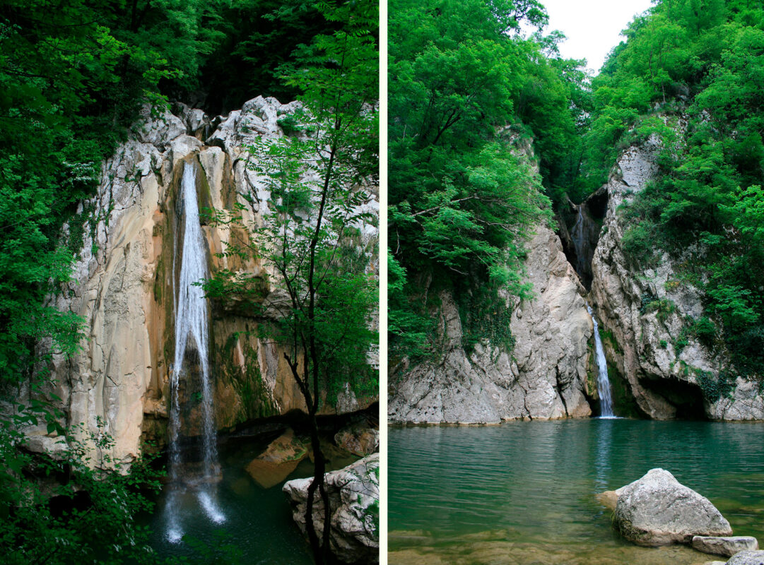 Агурские водопады - Сочи