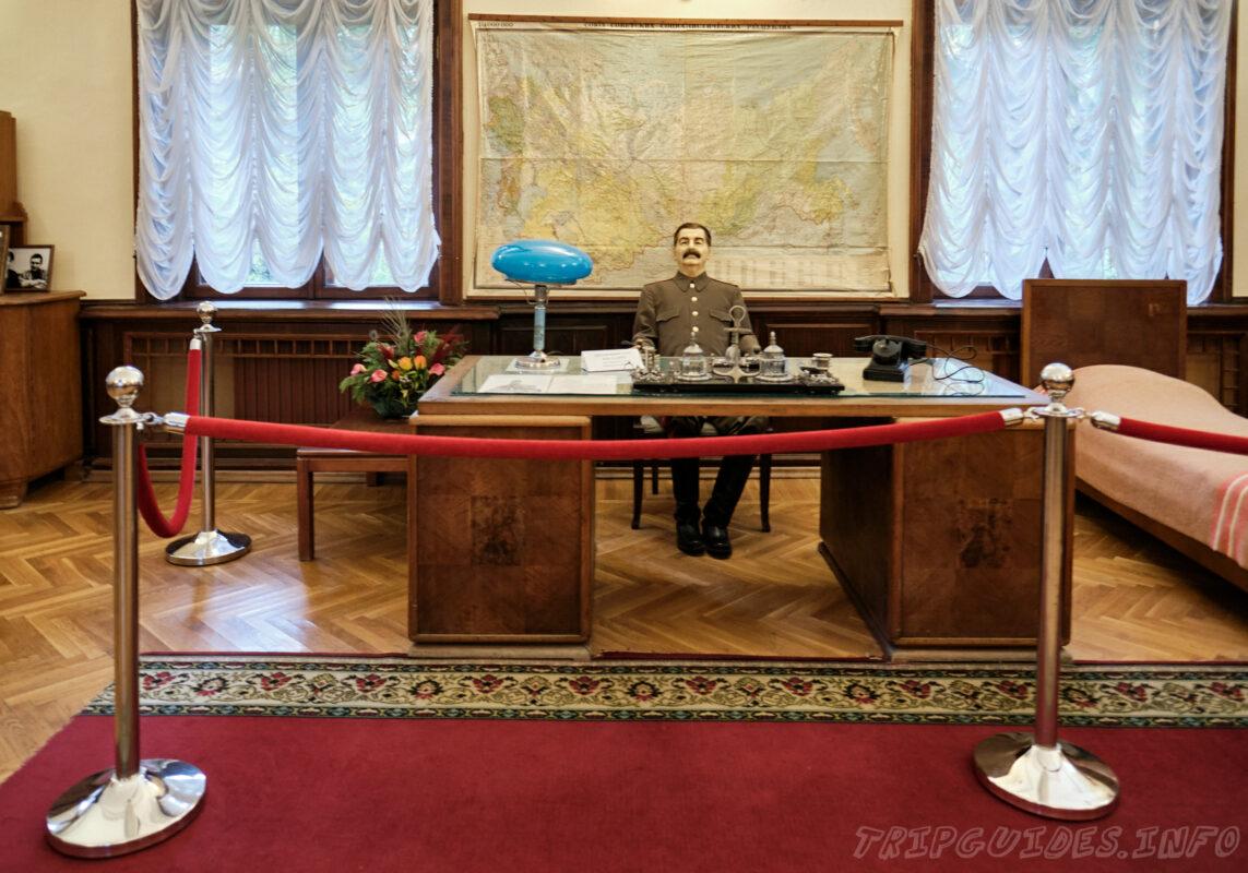 Дача Сталина в Сочи - внутренний интерьер