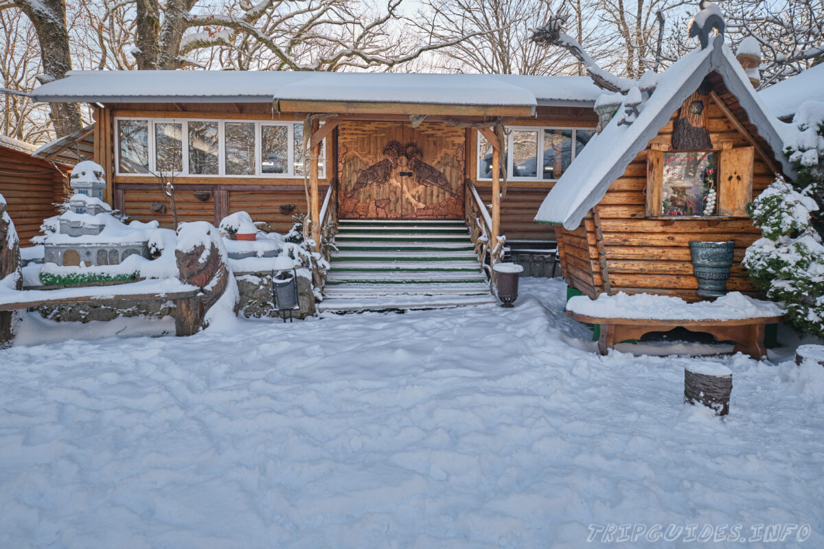 Гора Ахун зимой - Сочи