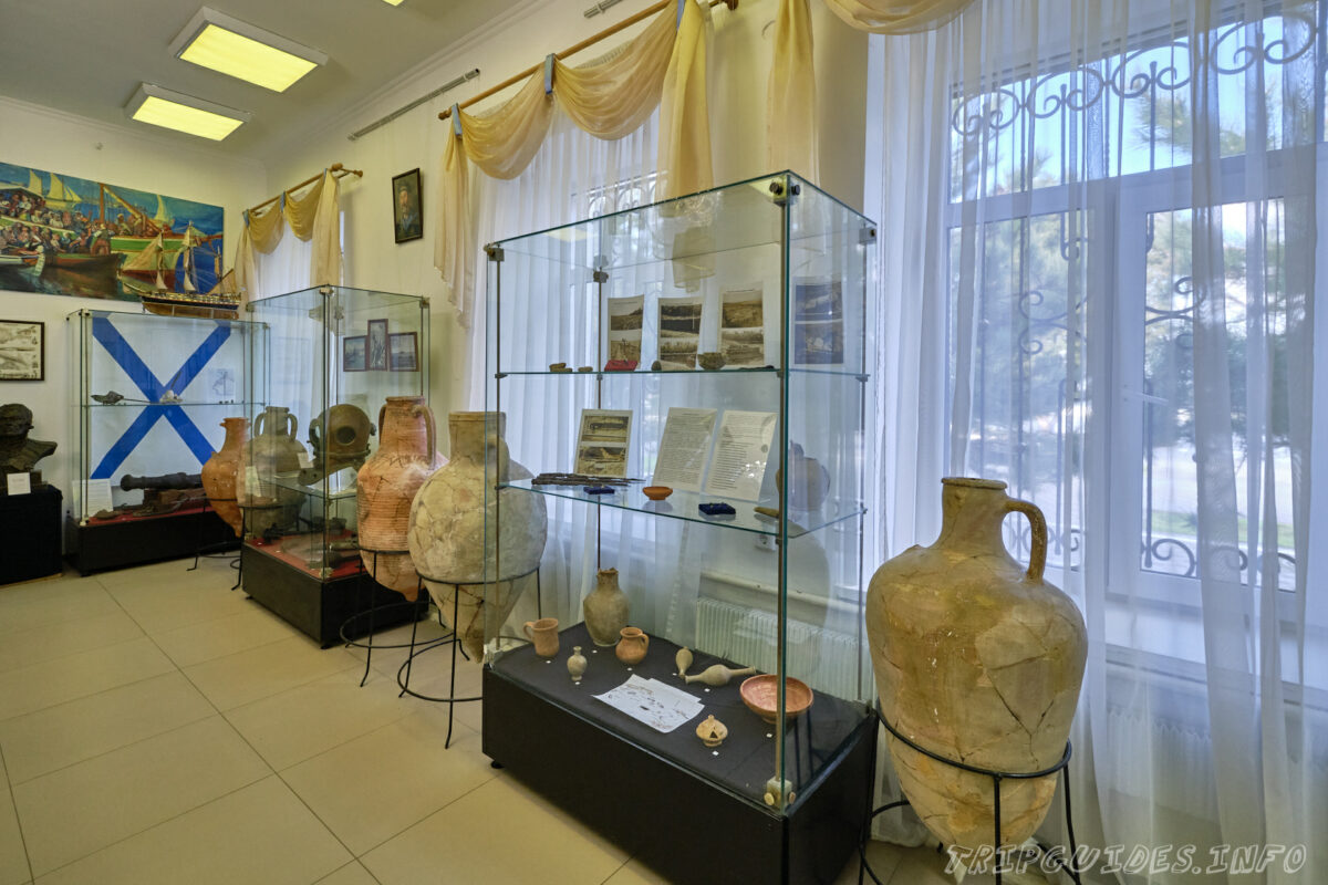 Мемориальный зал - «Возвращение на Родину» - «Горгиппия» - археологический музей