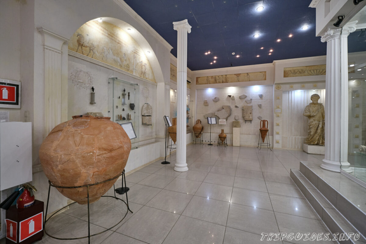 Экспозиции - Античный город - «Горгиппия» - археологический музей