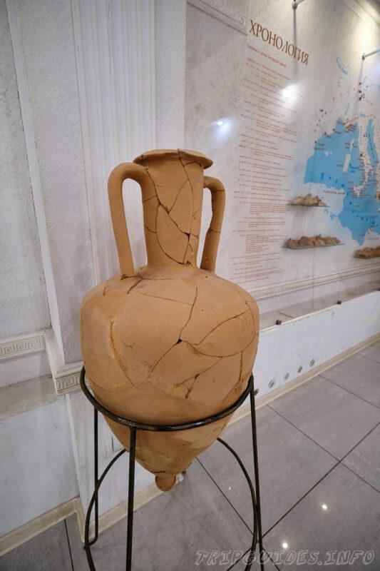 Экспозиция - Античный город - «Горгиппия» - археологический музей