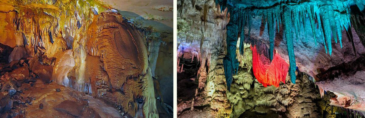 Люстровый, эстрадный зал - Воронцовская пещера - Сочи