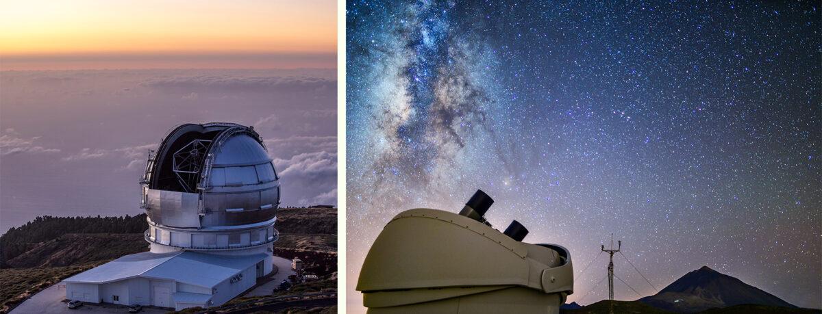 Телескопы - Обсерватория Тейде на Тенерифе