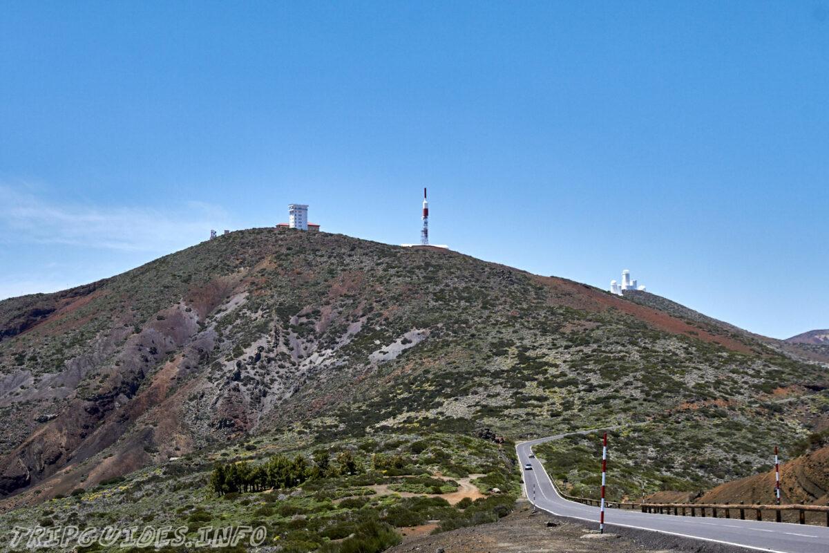 Обсерватория Тейде на Тенерифе - дорога TF-24