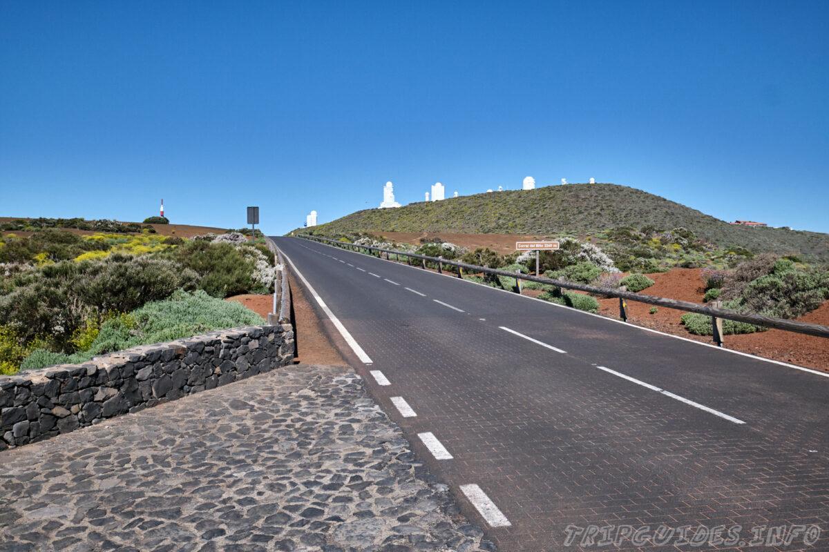 Обсерватория Тейде на Тенерифе - дорога TF-24 или трасса Ла-Эсперанса