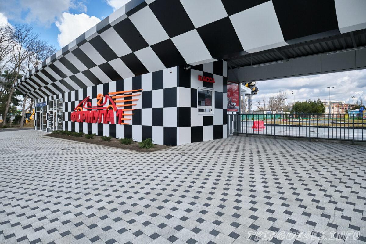 Картинг Формула 1 - Парк имени 30-летия Победы в Анапе