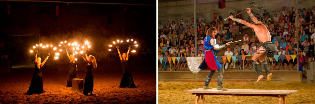 Шоу «Рыцарский турнир» - Замок «Львиная голова» в Сукко