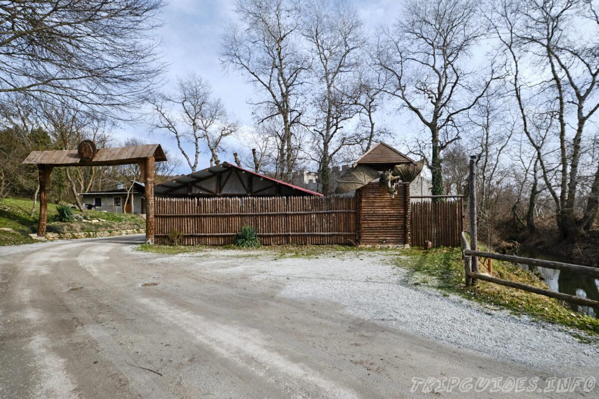 Замок «Львиная голова» в Сукко - Краснодарский край, Россия