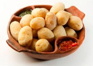 Картофель сваренный в соли - Las papas arrugadas