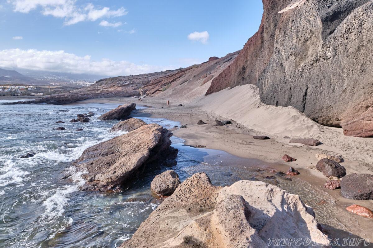 Пляж Ла Техита на Тенерифе