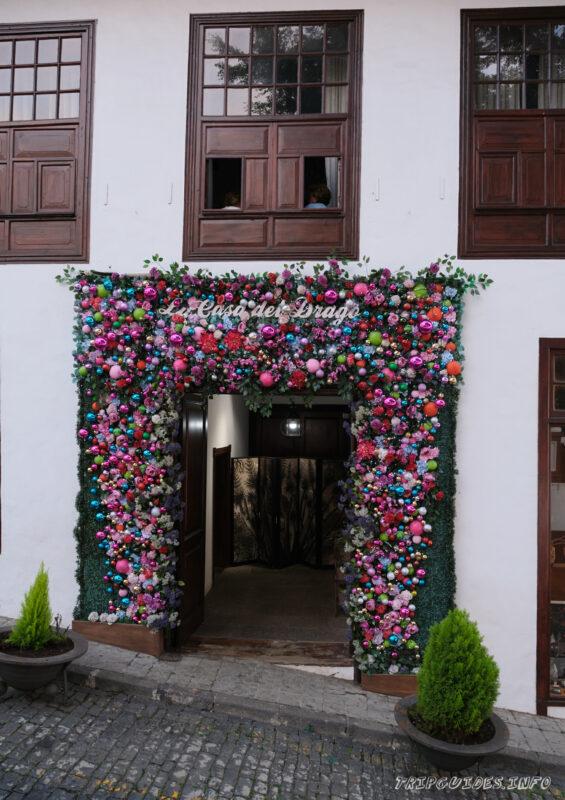 Дом Драго (Casa del Drago) в Икод-де-Лос-Винос Тенерифе