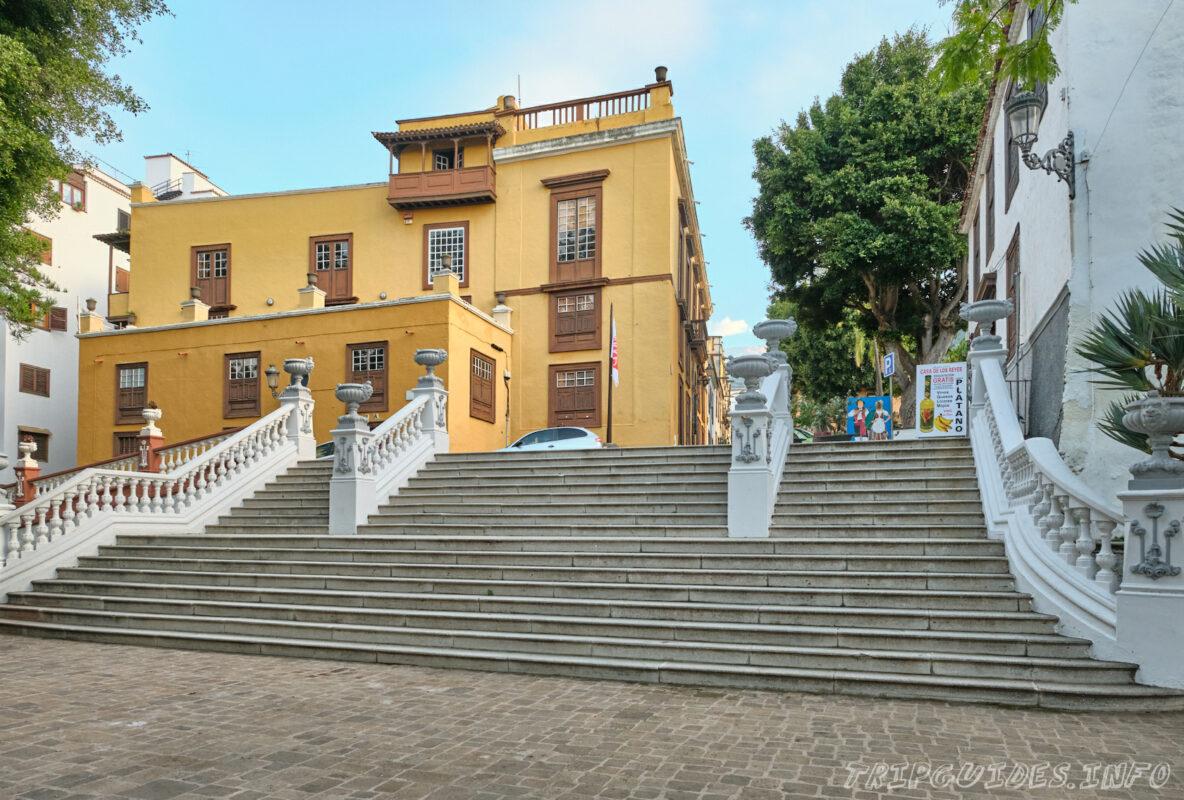 Дом Лоренцо-Касереса и Муниципальная музыкальная школа Функанорте в Икод-де-Лос-Винос Тенерифе