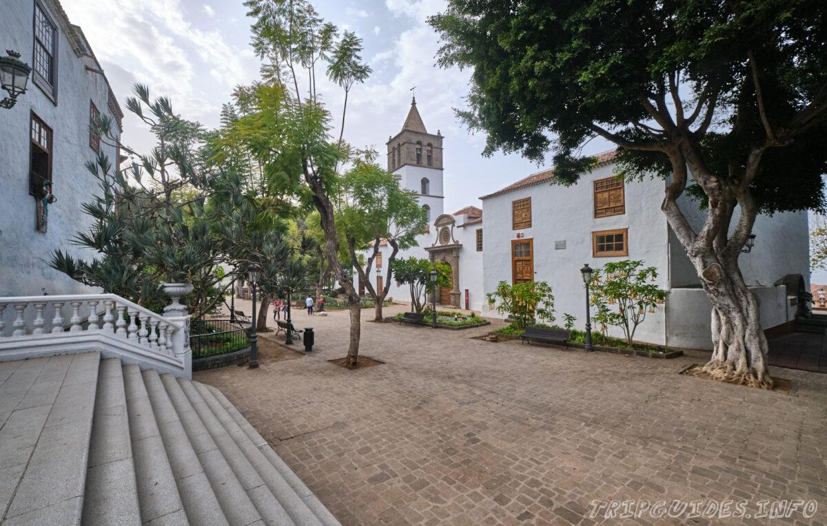 Приходская церковь Сан Маркос в Икод-де-Лос-Винос Тенерифе