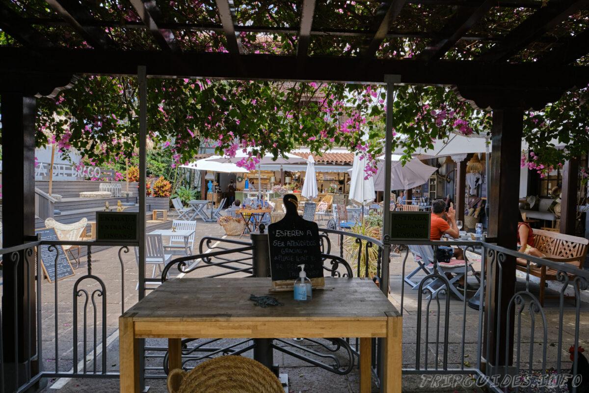 Бар-ресторан Драго в Икод-де-Лос-Винос на Тенерифе в Испании