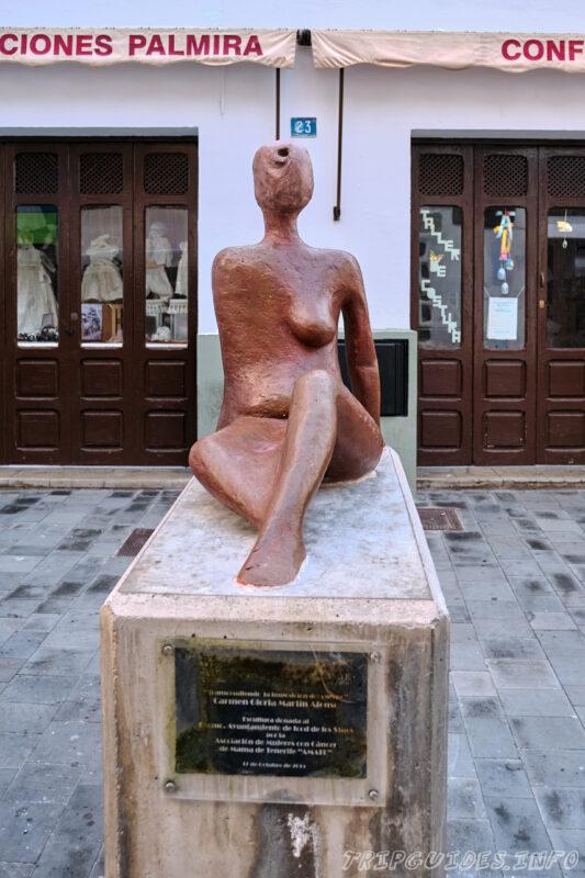 Арт-объект в Икод-де-Лос-Винос на Тенерифе в Испании