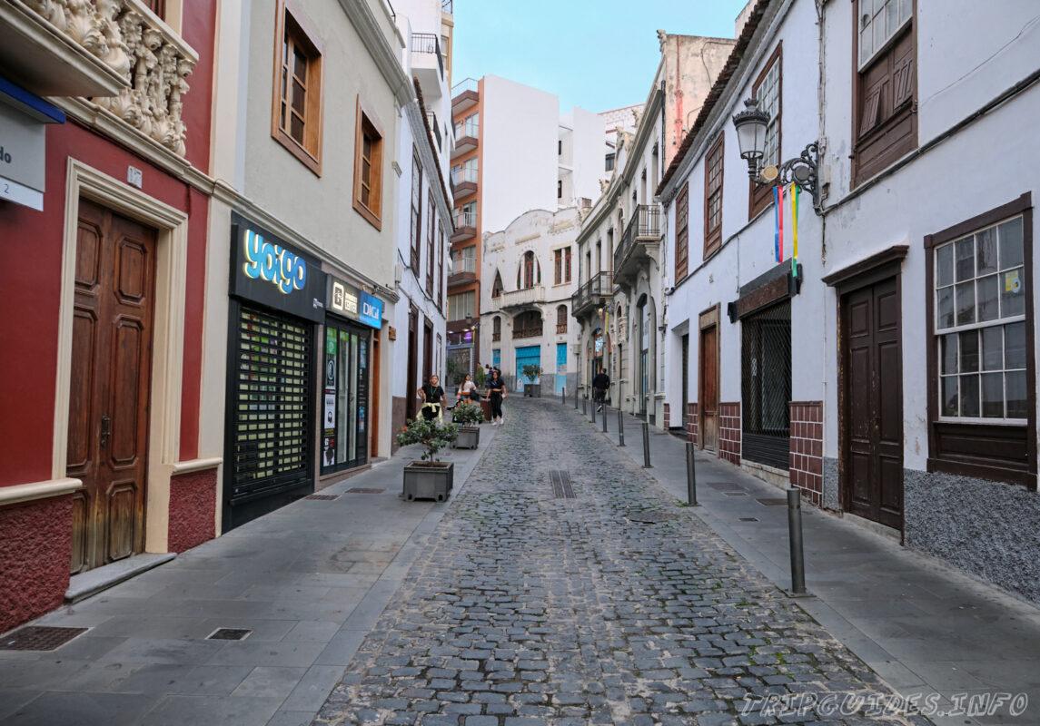 Пешеходные прогулки и шоппинг в Икод-де-Лос-Винос Тенерифе