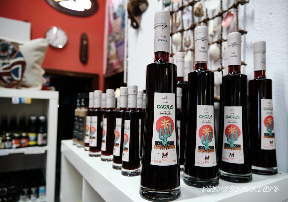 Магазин сувениров - Ла-Херия - винодельня и виноградники на Лансароте