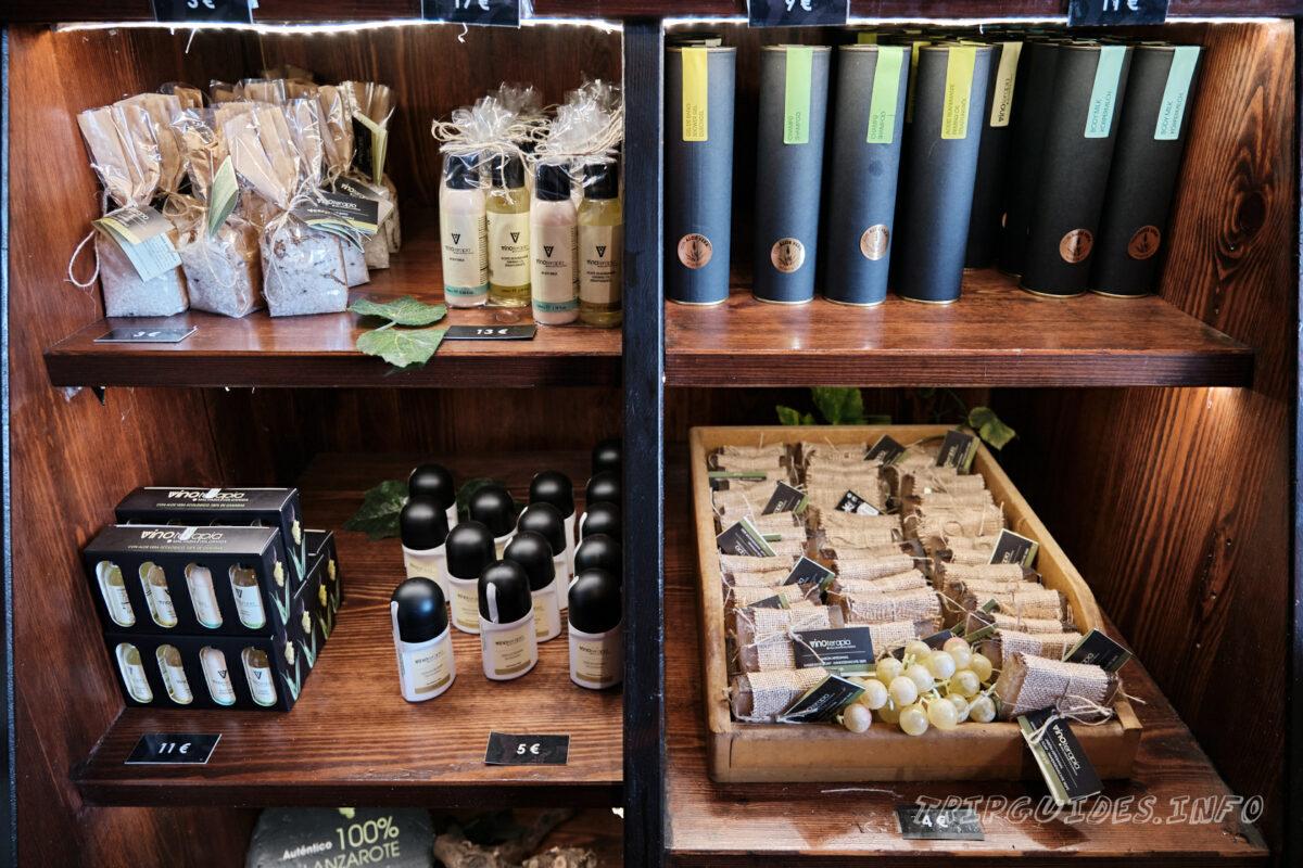 Сувениры - Ла-Херия - винодельня и виноградники на Лансароте