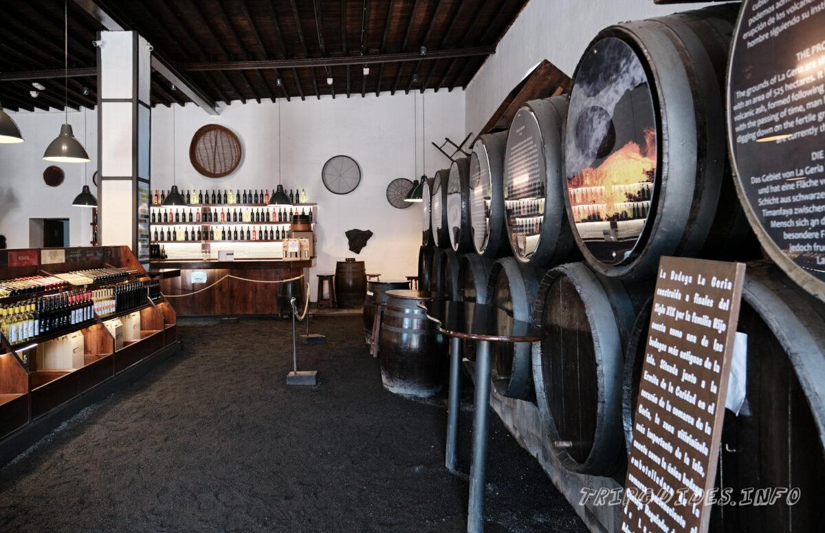 Дегустация и покупка вин - Ла-Херия - винодельня и виноградники на Лансароте