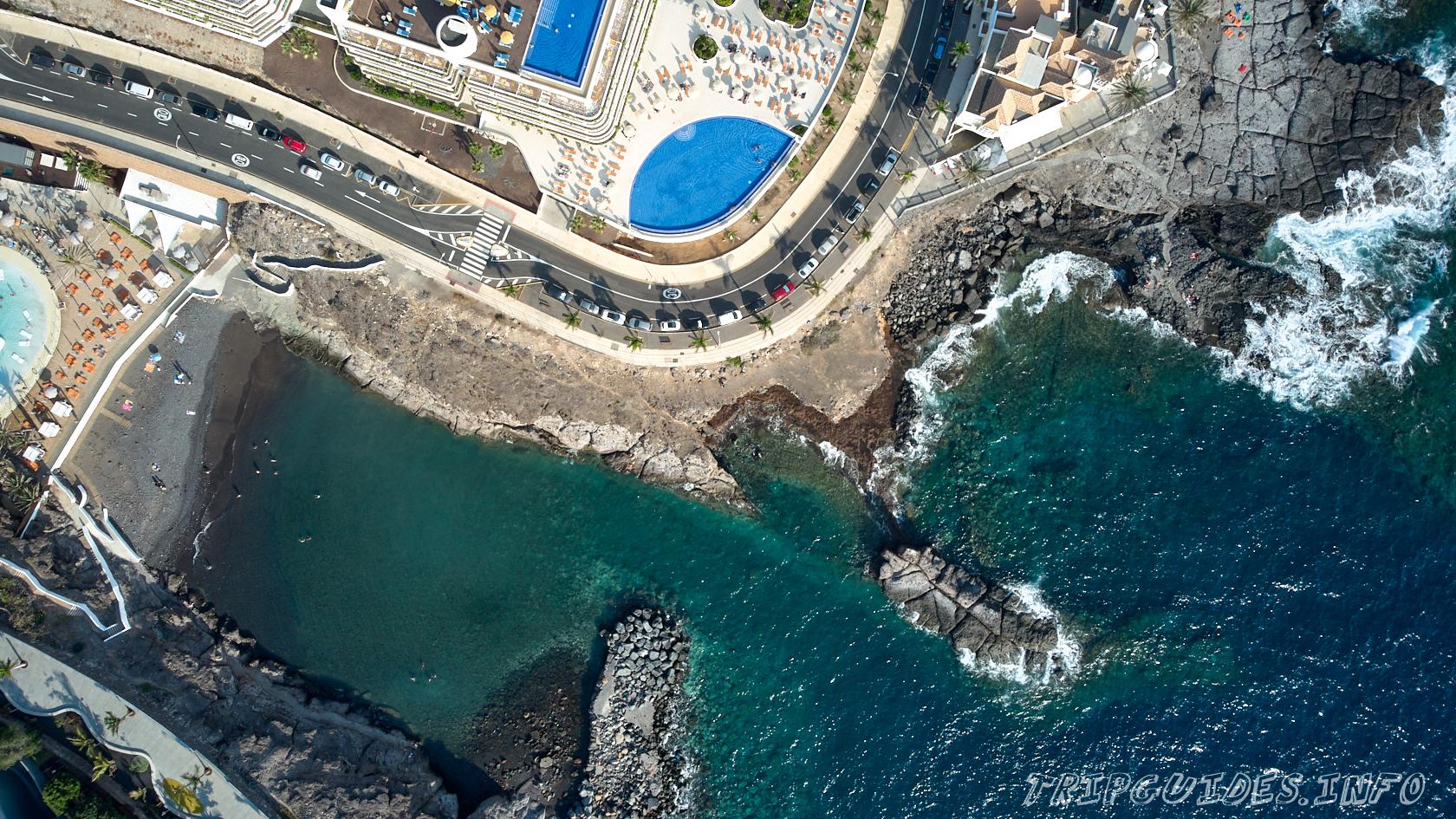 Пляж Эль-Пинке (Playa El Pinque) в Плайя Параисо - курорт на Тенерифе