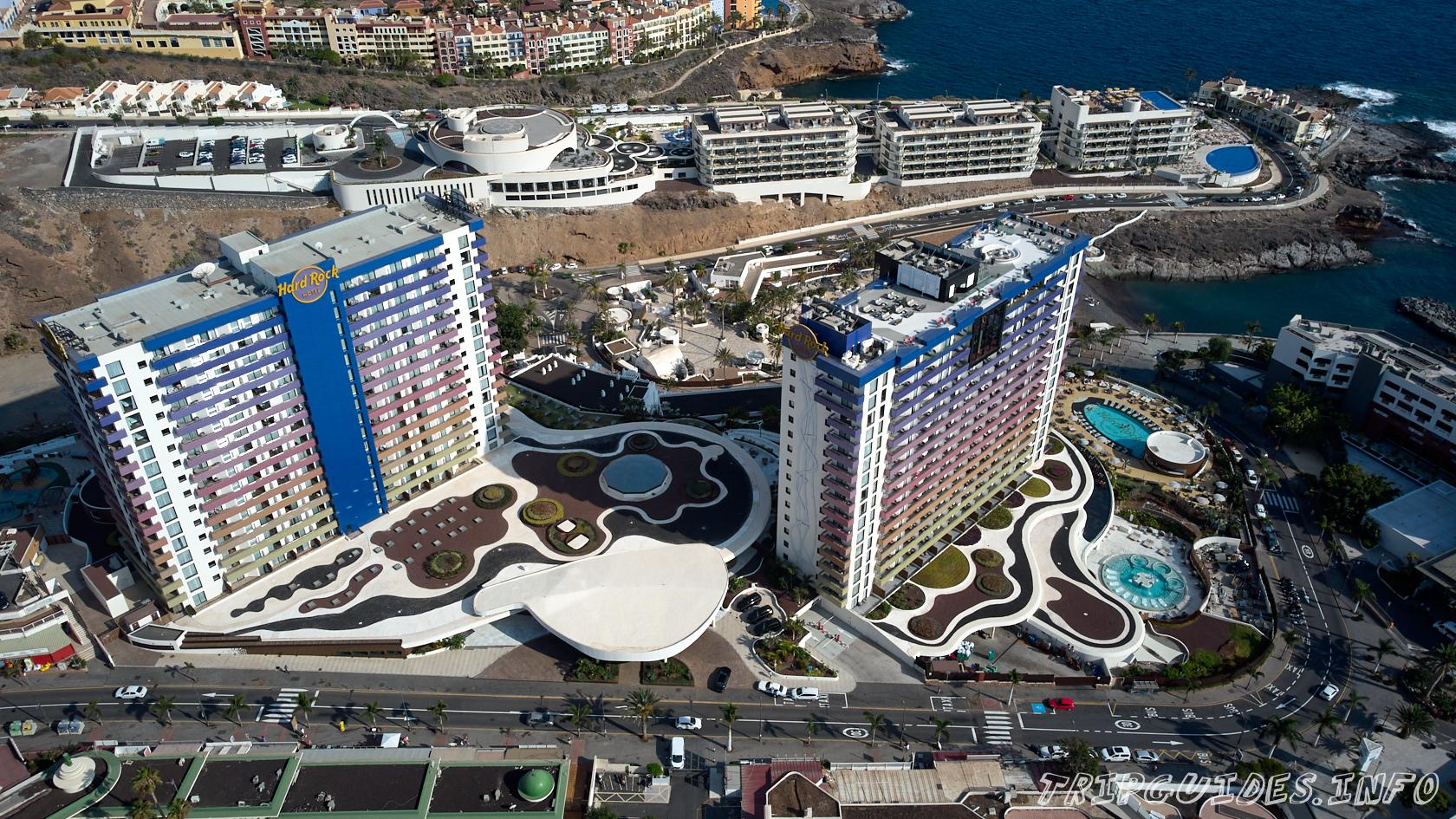 Отель Hard Rock Hotel Tenerife 5* в Плайя Параисо - курорт на Тенерифе