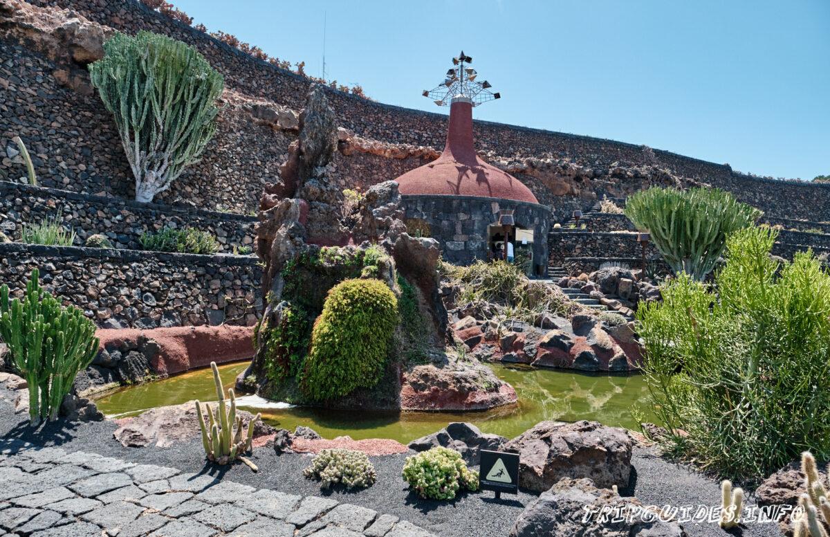 Сад Кактусов на Лансароте