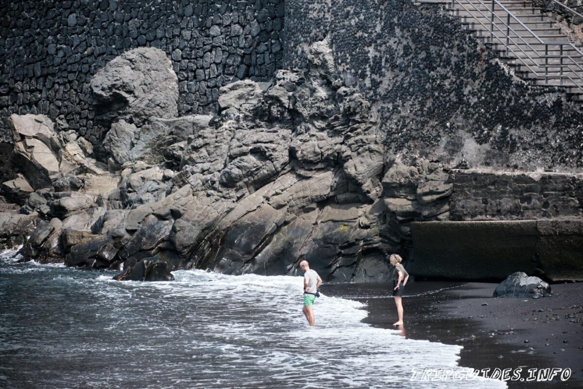 Пляж Сан Маркос (Playa de San Marcos) на Тенерифе