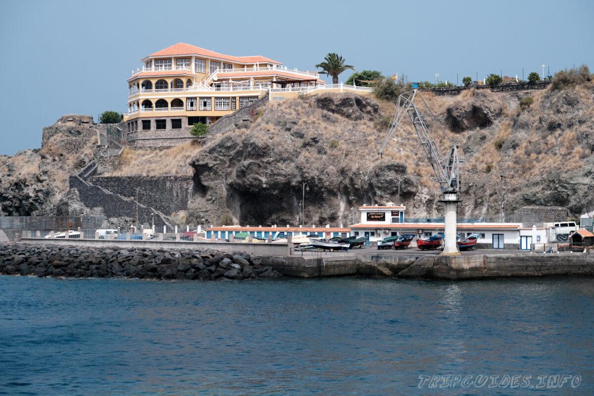 Рыболовный порт в Сан Маркос на Тенерифе