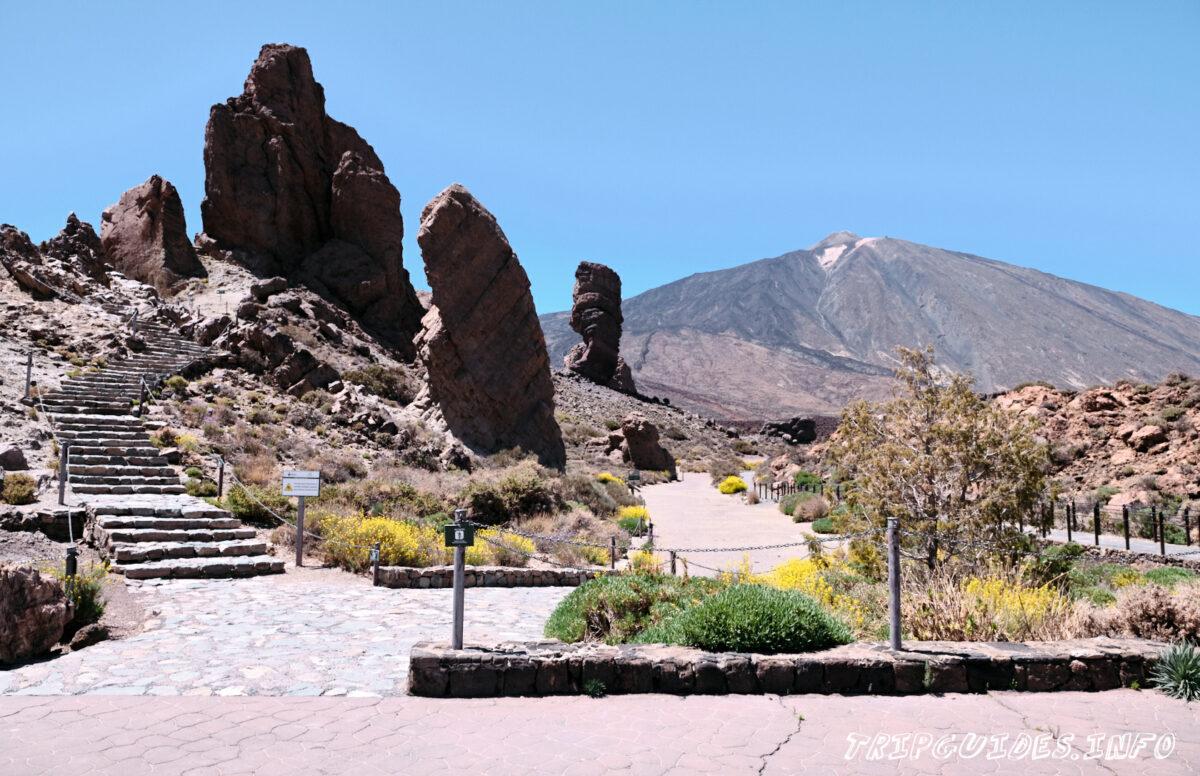Скала Синчадо - Скалы де Гарсия в Национальном парке Тейде на Тенерифе